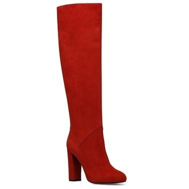 Nine West Çizme Kırmızı